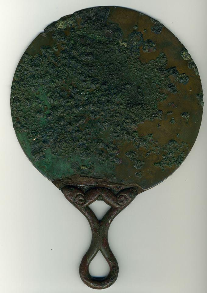 Römischer Bronze-Spiegel
