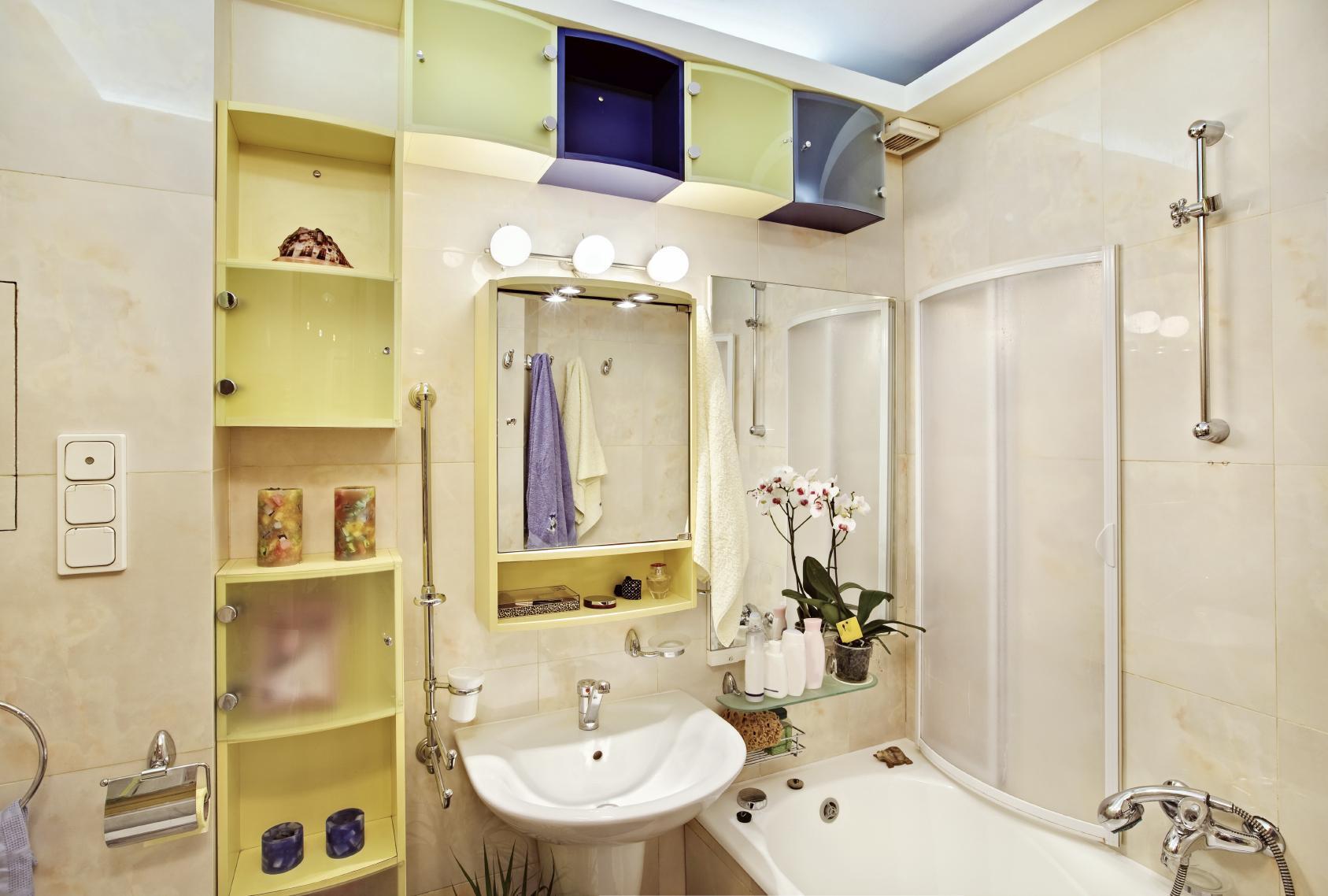 Diy ideen f r kleine badezimmer das spiegel magazin for Badezimmer ideen diy