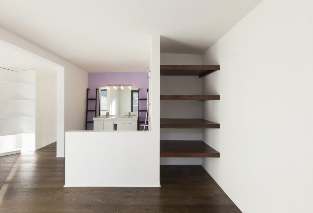 beautiful interior of a new apartment, bathroom
