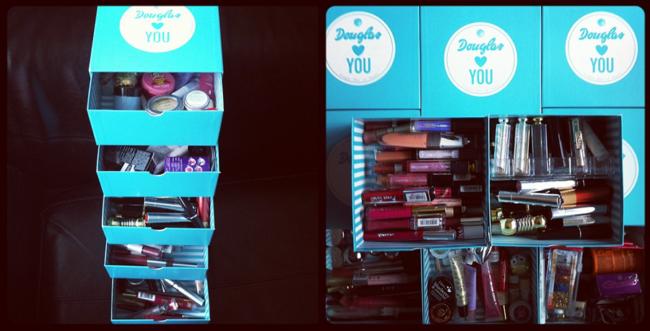 Make-up in Schachteln
