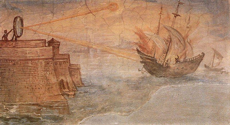 800px-Archimedes-Mirror_by_Giulio_Parigi