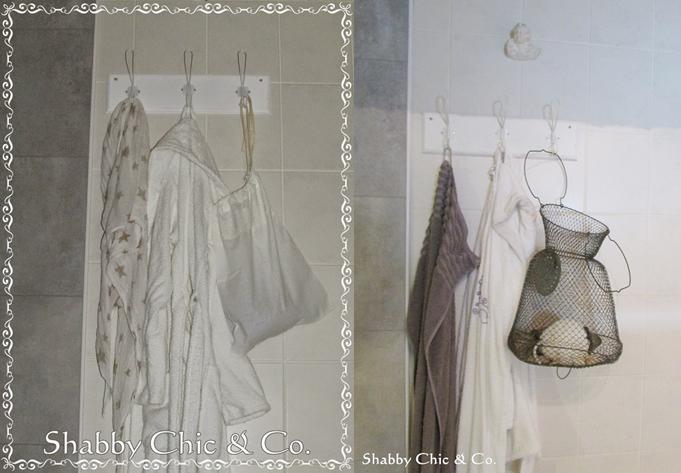 Garderobe für das Bad