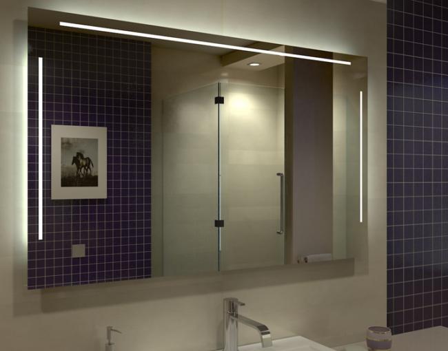 Spiegel für ein modernes Bad