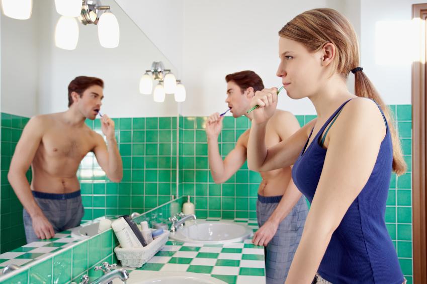 Badspiegel, Beleuchtung, Licht