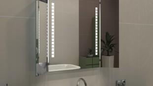 Klappspiegel integrierte Beleuchtung