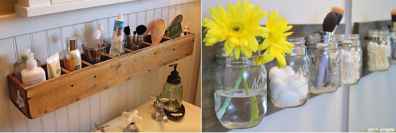 Upcycling Ideen: Do-It-Yourself-Möbel fürs Badezimmer