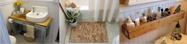 Upcycling Ideen fürs Badezimmer